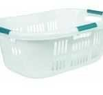 Plastic Laundry Baskets for Home Storage