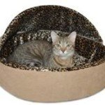 K & H Thermo-Kitty Deluxe Hooded Cat Bed