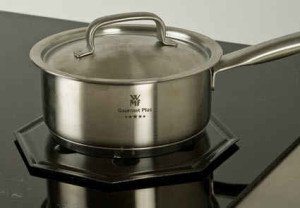 Simmer Mat Heat Diffuser on Induction Cooktop