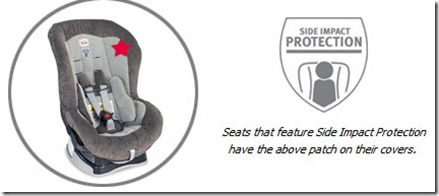 Britax Roundabout 55 Side Impact Protection