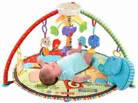FisherPrice Luv U Zoo Baby Gym